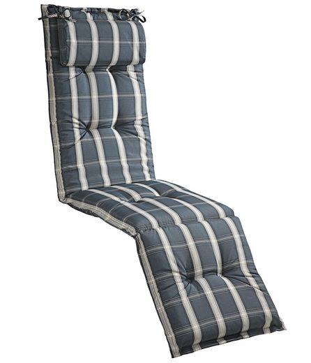 Dehner Liegenauflage »Relaxauflage Lancy, 175 x 50 x 8 cm, Polyester«