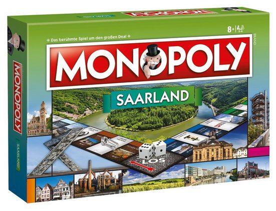 Winning Moves Spiel, Brettspiel »Monopoly Saarland«