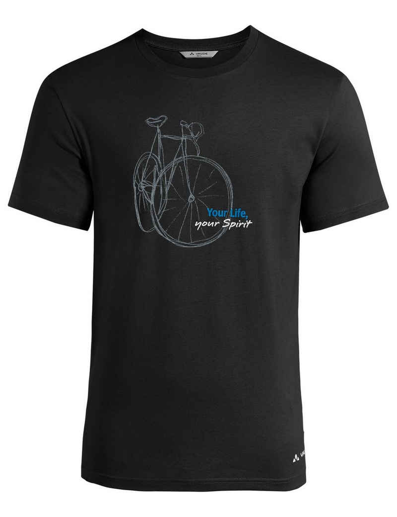 VAUDE T-Shirt »Men's Spirit T-Shirt« (1-tlg) Grüner Knopf