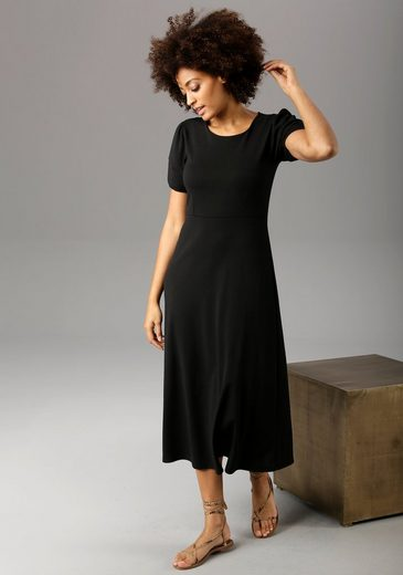 Aniston CASUAL Jerseykleid in Crash-Optik - NEUE KOLLEKTION