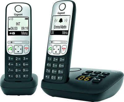 Gigaset »A690A Duo« Schnurloses DECT-Telefon (Mobilteile: 2)