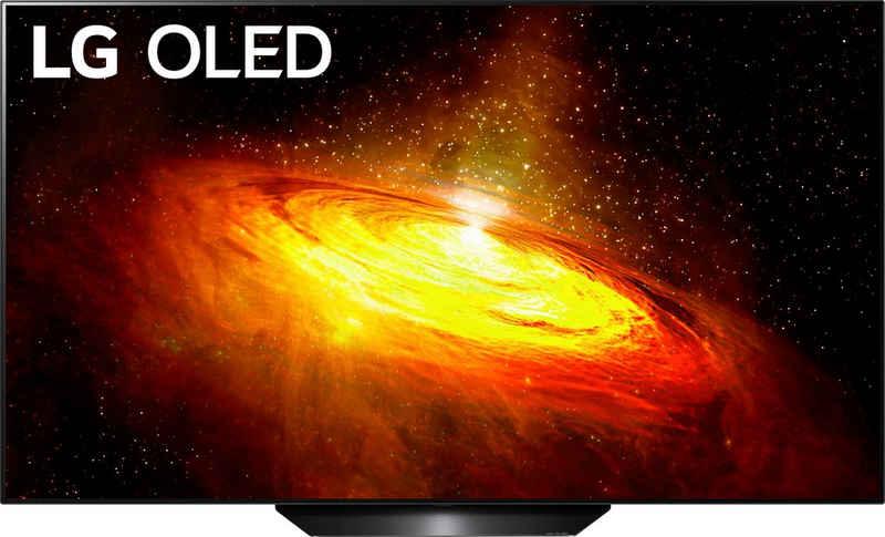 LG OLED65BX9LB OLED-Fernseher (164 cm/65 Zoll, 4K Ultra HD, Smart-TV, Twin Triple-Tuner, Google Assistant, Alexa und AirPlay 2, inkl. Magic Remote-Fernbedienung)