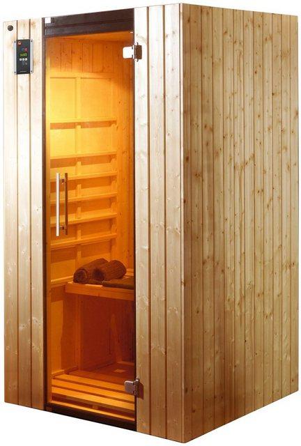 Saunen und Zubehör - weka Infrarotkabine »Ranua 1«, BxTxH 109 x 98 x 190 cm, 58 mm, geeignet für 1 Person  - Onlineshop OTTO