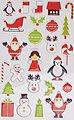 maildor Sticker »Weihnachten«, 8 Blatt, Bild 6