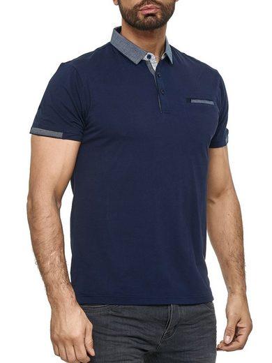 Max Men Poloshirt »3176« Herren Poloshirt mit Kragen Basic Uni