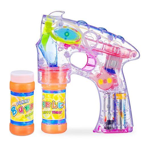relaxdays Seifenblasenpistole »LED Seifenblasenpistole«