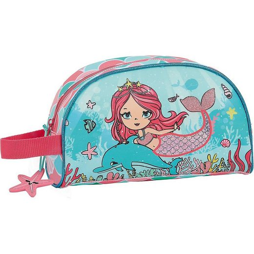 safta Kosmetiktasche »Kosmetiktasche Sirena Meerjungfrau«