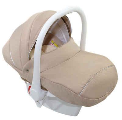 Clamaro Babyschale, 2.95 kg, CLAMARO Babyschale exklusiv belastbar von 0-13 kg mit Fußverdeck. Stoßfeste High-Tech Kunststoffschale, mit ultraleichtem Anti-Shock Schaumstoff ausgekleidet, Prüfsiegel ECE-R 44/04