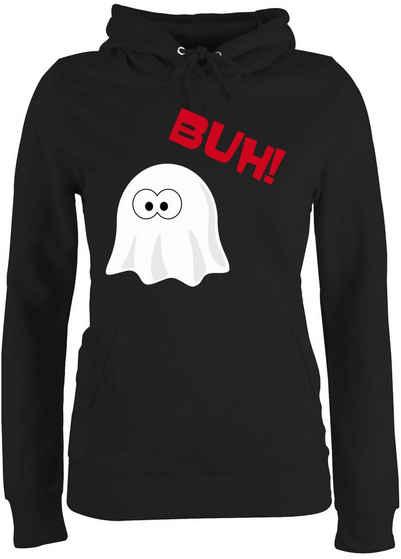 Shirtracer Hoodie »Kleiner Geist Buh süß - Halloween - Damen Premium Kapuzenpullover«