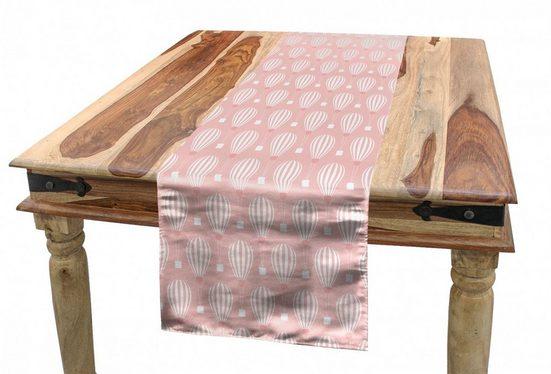 Abakuhaus Tischläufer »Esszimmer Küche Rechteckiger Dekorativer Tischläufer«, Abenteuer Lullaby Zeit Theme