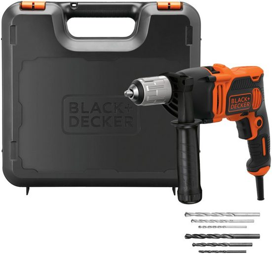 Black + Decker Schlagbohrmaschine, 230 V, max. 3100 U/min, ohne Akku