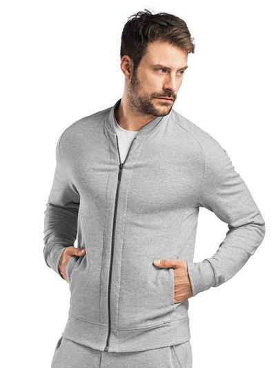 Hanro Trainingsjacke »Jacke mit Reißverschluss« (1-St)