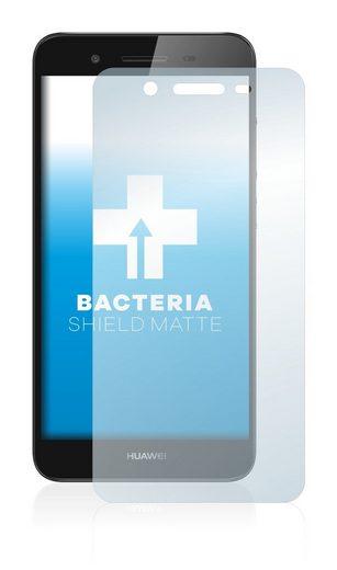 upscreen Schutzfolie »für Huawei P8 Lite Smart«, Folie Schutzfolie matt entspiegelt antibakteriell