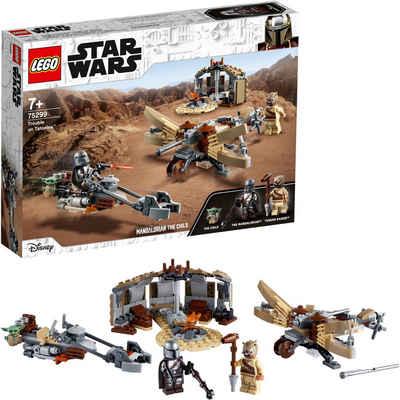 LEGO® Konstruktionsspielsteine »Ärger auf Tatooine™ (75299), LEGO® Star Wars™«, (276 St), Made in Europe