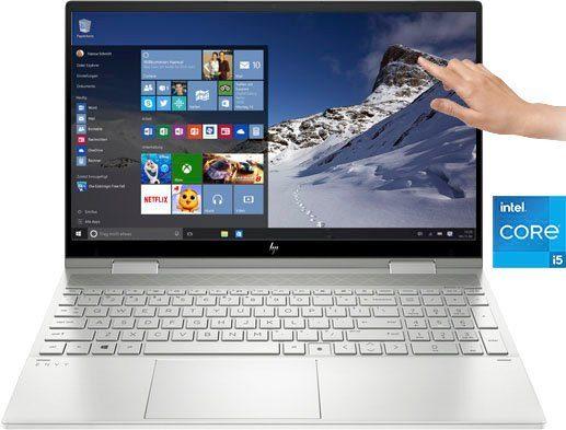 HP 15-ed1255ng Convertible Notebook (39,6 cm/15,6 Zoll, Intel Core i5, Iris© Xe Graphics, 512 GB SSD)