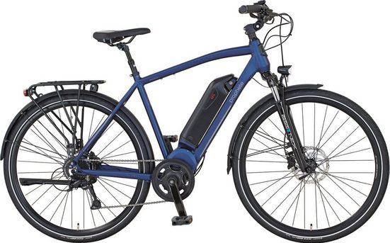Prophete E-Bike, 8 Gang Shimano Acera Schaltwerk, Kettenschaltung, Mittelmotor 250 W
