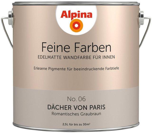 Alpina Feine Farben Dächer von Paris, grau