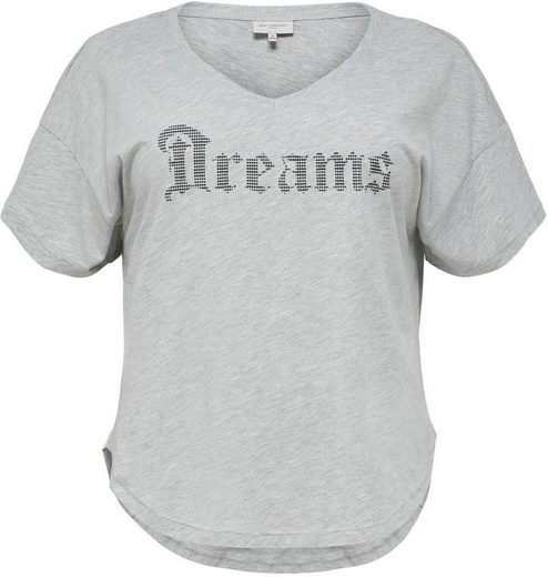 ONLY CARMAKOMA V-Shirt Mit V-Ausschnitt