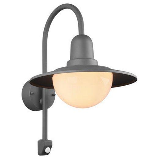 click-licht Deckenleuchte »Wandleuchte Norman in Anthrazit E27 IP44 mit Beweg«, Aussenlampe, Aussenwandleuchte, Outdoor-Leuchte