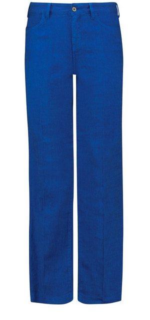 Hosen - NYDJ Trouser »in Stretch Linen« › blau  - Onlineshop OTTO