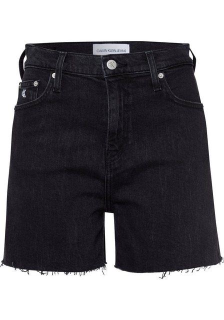 Hosen - Calvin Klein Jeans Shorts Leicht ausgefranste Kante ›  - Onlineshop OTTO