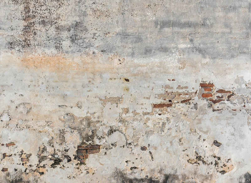 living walls Fototapete »Designwalls Old Wall«, glatt, (5 St)