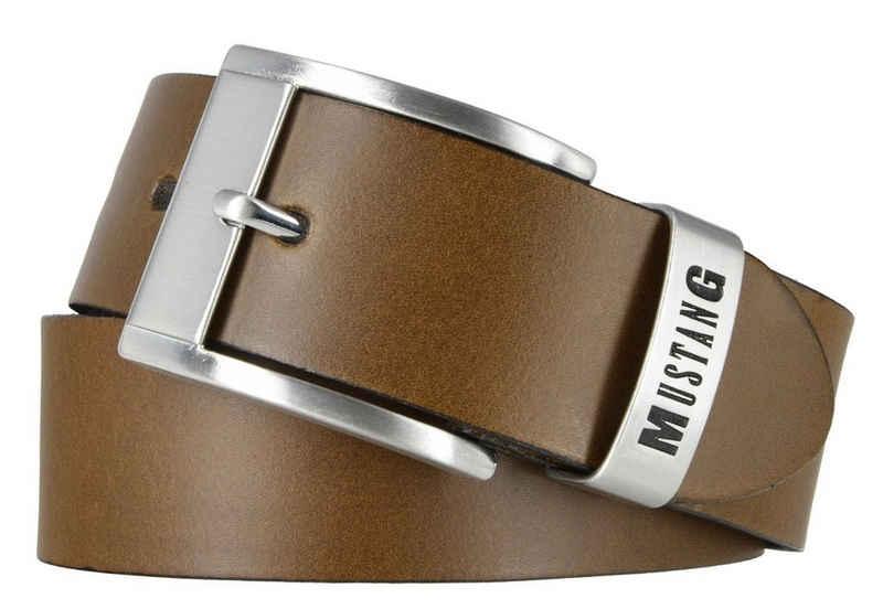 MUSTANG Ledergürtel »MUSTANG Gürtel für Herren Ledergürtel 40 mm Gürtel«