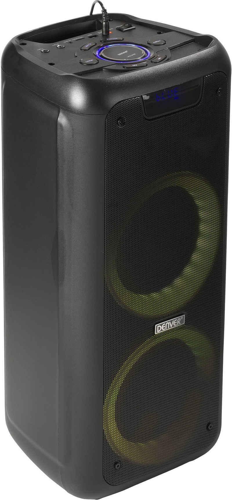 Denver BPS-350 Bluetooth-Lautsprecher (Bluetooth, 25 W)