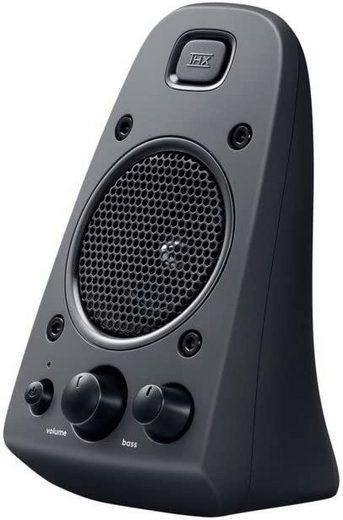 Logitech Z130 Stereo-Lautsprecher PC-Lautsprecher (5 W, Lautstärke- und Tonregler, Ein-/Ausschalter)