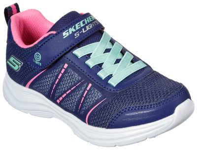 Skechers Kids »GLIMMER KICKS« Sneaker mit Klettverschluss und Gummizug