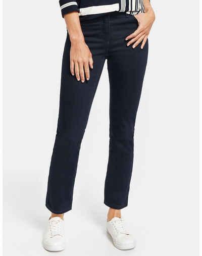 GERRY WEBER Stretch-Jeans »Figurformende Hose Best4me Kurzgröße« (1-tlg) 5-Pocket