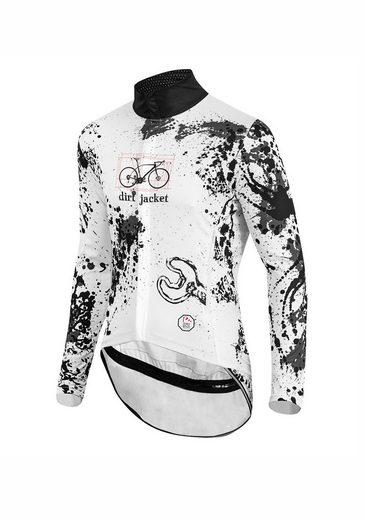 prolog cycling wear Fahrradjacke mit auffälligem Print