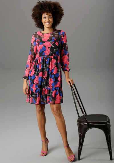 Aniston SELECTED Partykleid mit Volant
