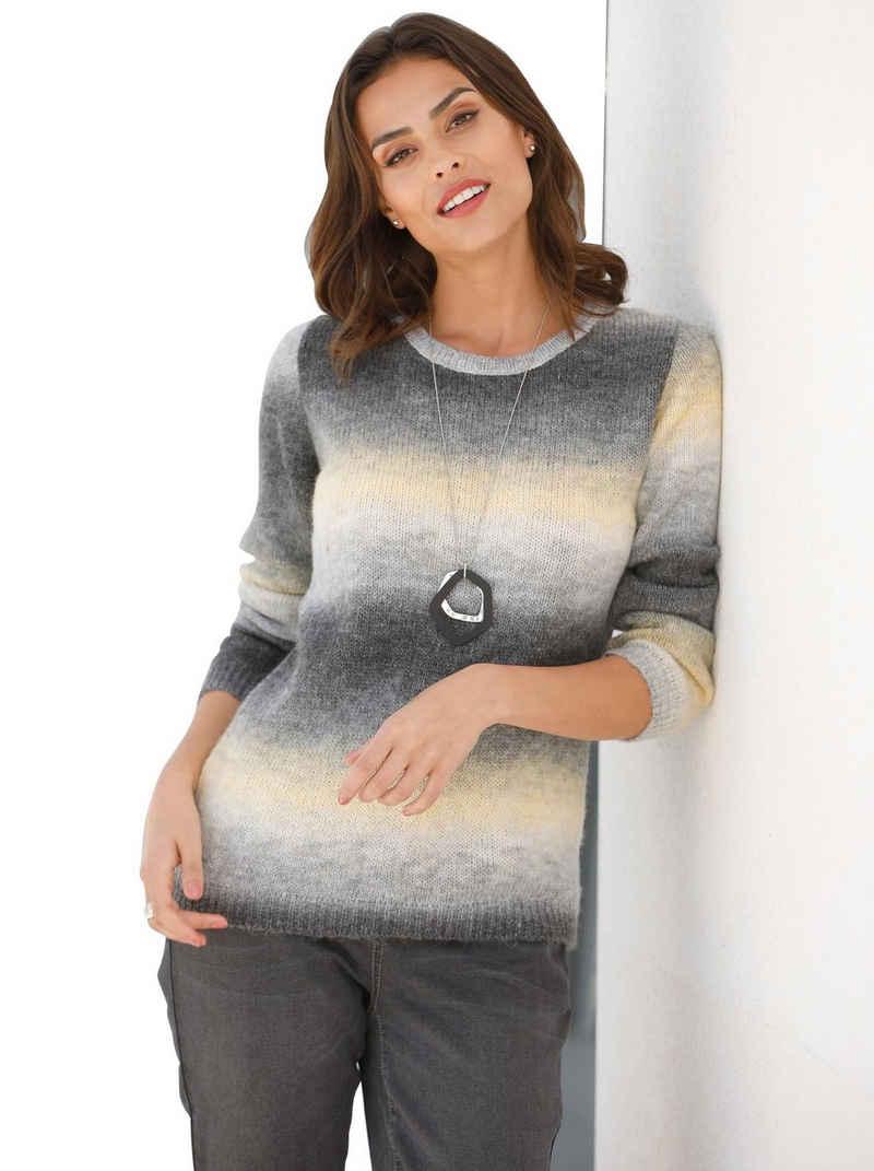 Inspirationen Rundhalspullover »Pullover«