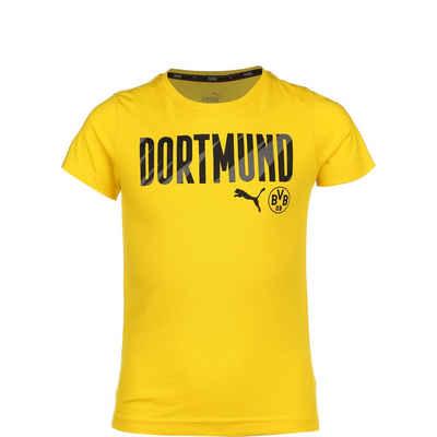PUMA T-Shirt »Borussia Dortmund Bvb Ftblcore Wording«