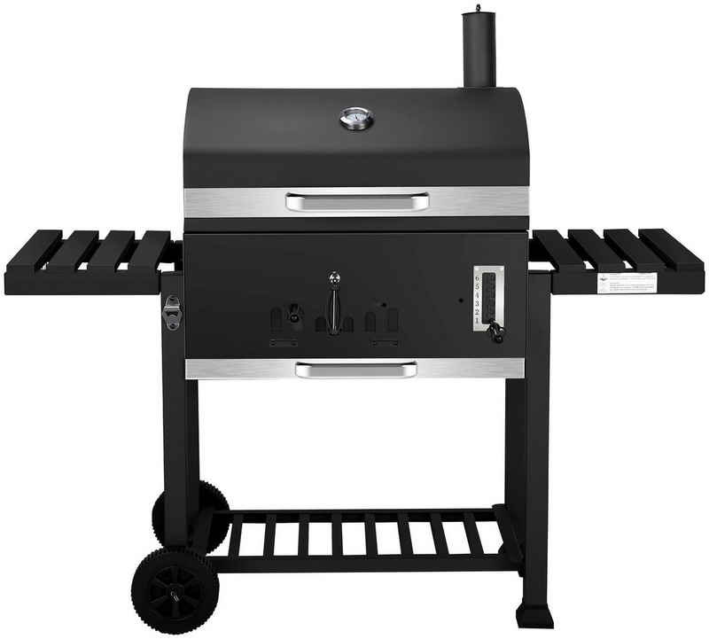 El Fuego Smoker »Ontario XXL«, BxTxH: 152x60x136 cm