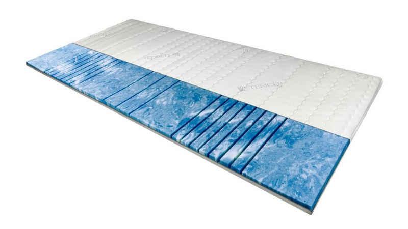 Topper »7-Zonen Deluxe Gelschaum-Topper«, AM Qualitätsmatratzen, 8.0 cm hoch, Raumgewicht: 50, Gelschaum, 80x200 cm