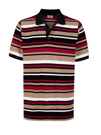 Roger Kent Poloshirt in Piqué-Qualität
