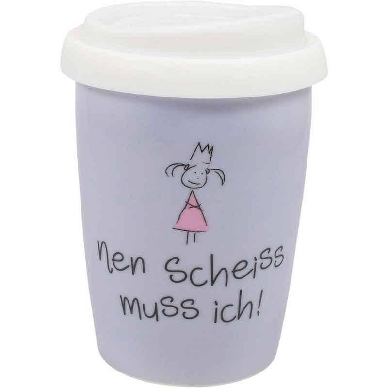 "MEA LIVING Tasse »Coffee to go Travel Mug ""100% beste Freundin"",«"