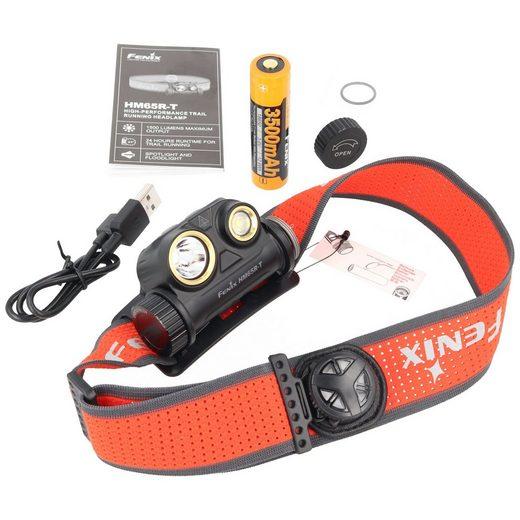 Fenix LED Stirnlampe »Fenix HM65R-T Stirnlampe, wiederaufladbare LED Sti«