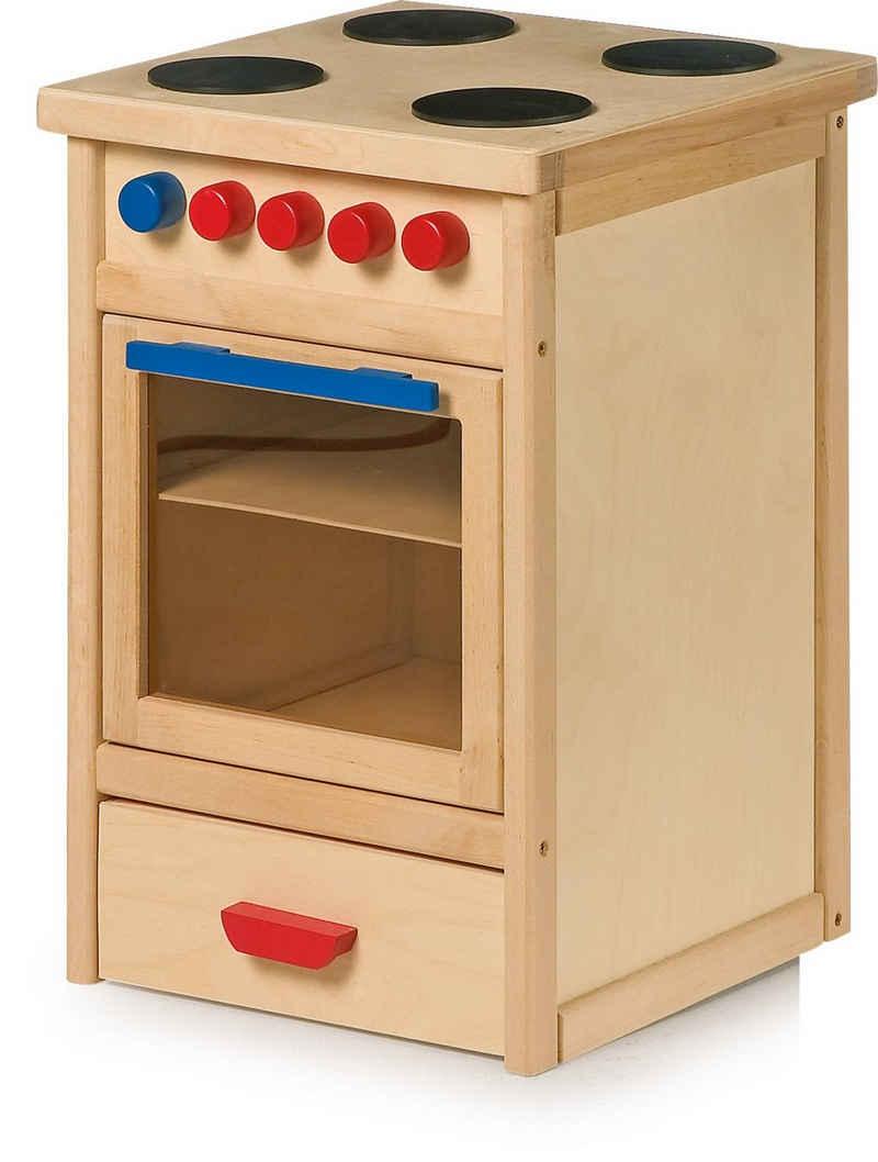 LeNoSa Kinder-Herd »Kinder Spielküche - Holz Küchenherd (Arbeitshöhe ca. 50 cm)«