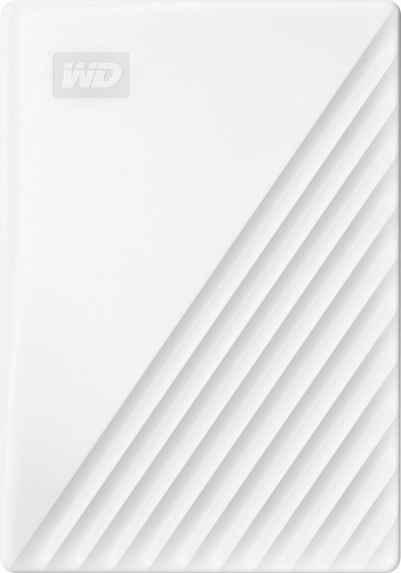 WD »My Passport™ 2TB White Edition« externe HDD-Festplatte (2 TB) 2,5)