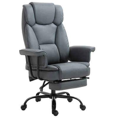 Vinsetto Schreibtischstuhl »Bürostuhl mit Fußstütze«