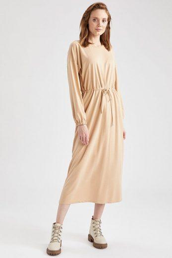 DeFacto Jerseykleid »DeFacto Damen Langarm Strickkleid REGULAR FIT«