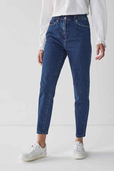 Next Mom-Jeans »Mom-Jeans mit elastischem Bund« (1-tlg)