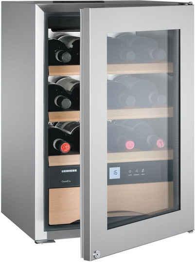 Liebherr Weintemperierschrank WKes 653-22, für 12 Standardflaschen á 0,75l