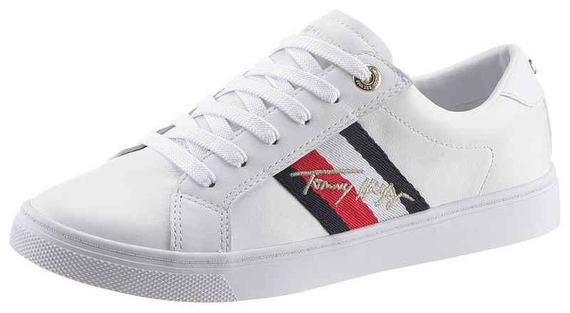 Tommy Hilfiger »TH SIGNATURE CUPSOLE SNEAKER« Sneaker mit Logostickerei
