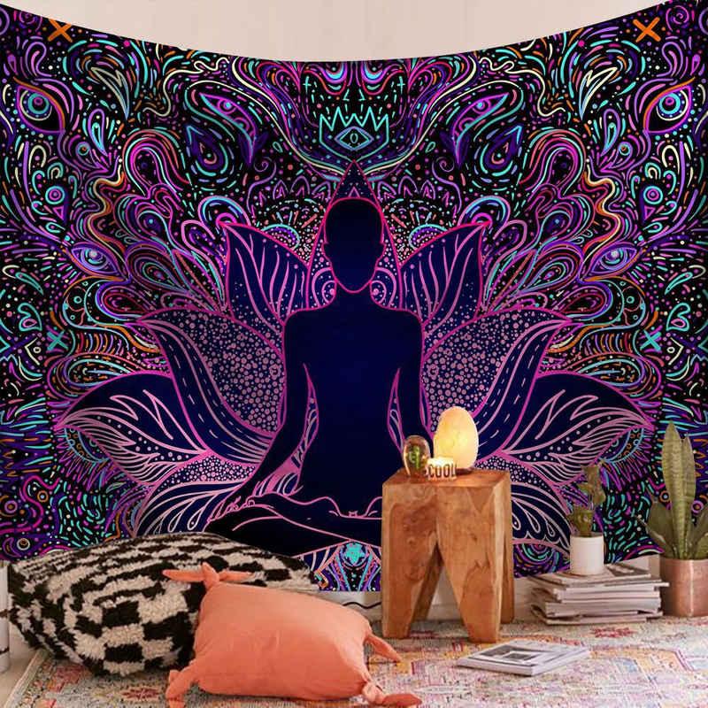 Wandteppich »Wandbehang«, Masbekte, Schlafzimmer Tapisserie, Wandkuns, Wandtuchst, Tagesdecke, Strandtuch, Dekor