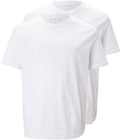 TOM TAILOR Men Plus T-Shirt mit Rundhals