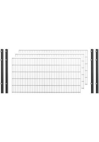 Arvotec Doppelstabmattenzaun (Set) 83 cm hoch ...